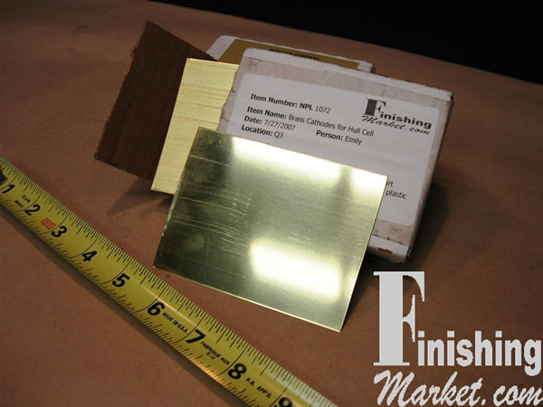 Brass Cathodes For Hull Cell Biganodes Com