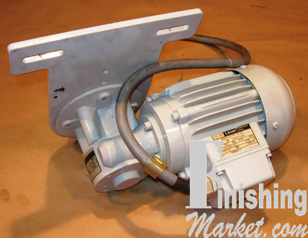 Lenze Motor With Angle Gear