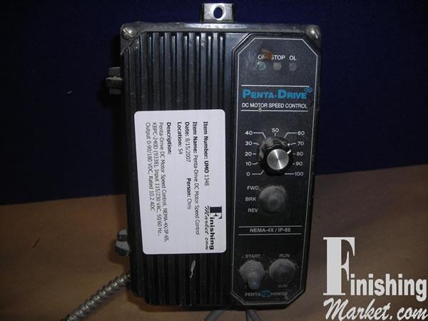 penta drive dc motor speed control