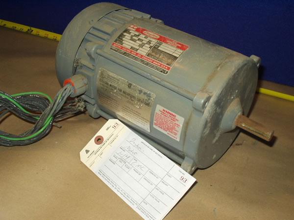1 2hp Dayton Electric Motor